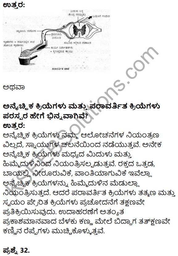 Karnataka SSLC Science Model Question Paper 3 in Kannada Medium - 20
