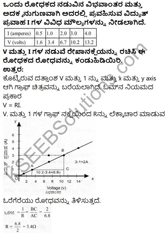 Karnataka SSLC Science Model Question Paper 3 in Kannada Medium - 21