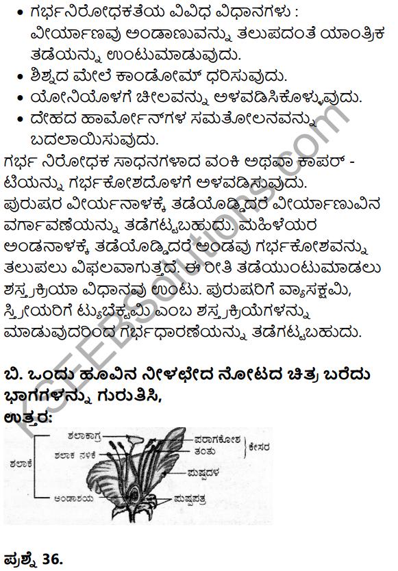 Karnataka SSLC Science Model Question Paper 3 in Kannada Medium - 24