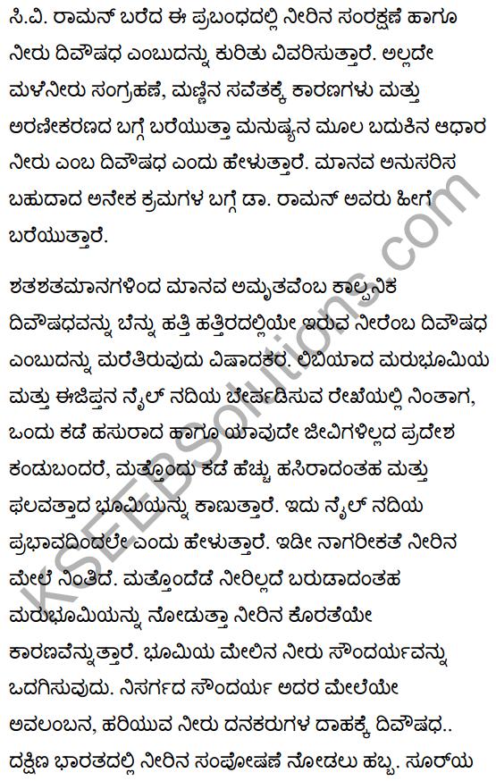 The Elixir of Life Summary in Kannada 1