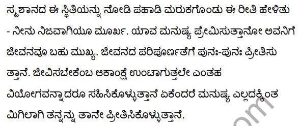 श्मशान Summary in Kannada 4