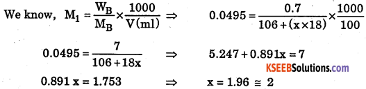 1st PUC Chemistry Question Bank Chapter 1 Some Basic Concepts of Chemistry - 40