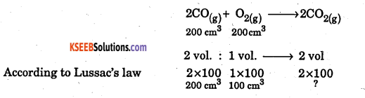 1st PUC Chemistry Question Bank Chapter 1 Some Basic Concepts of Chemistry - 49