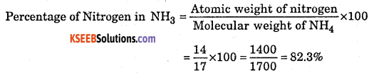 1st PUC Chemistry Question Bank Chapter 1 Some Basic Concepts of Chemistry - 8