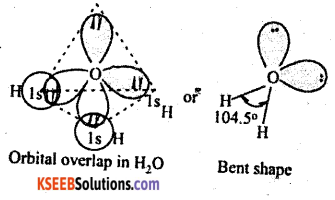 1st PUC Chemistry Question Bank Chapter 4 Chemical Bonding and Molecular Structure - 24