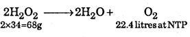 1st PUC Chemistry Question Bank Chapter 9 Hydrogen - 42