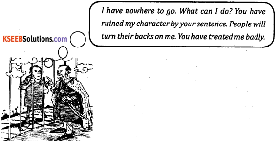 2nd PUC English Workbook Answers Streams Reported Speech image - 1