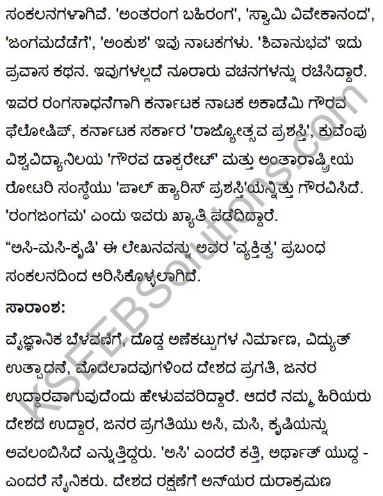 Asi Masi Krishi Summary in Kannada 3