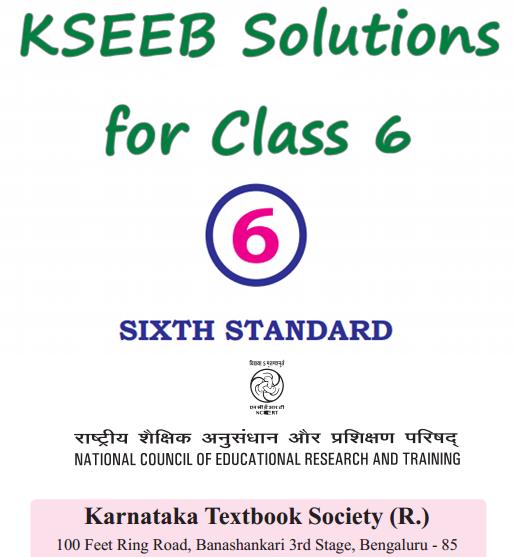 KSEEB Solutions for Class 6 Karnataka State Syllabus