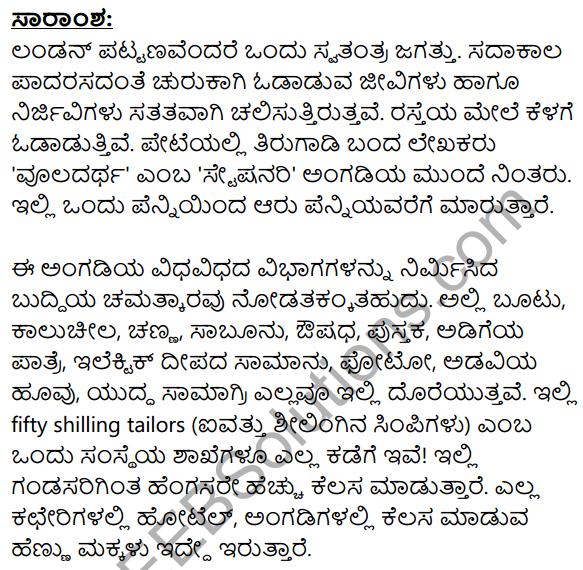 London Nagara Summary in Kannada 1