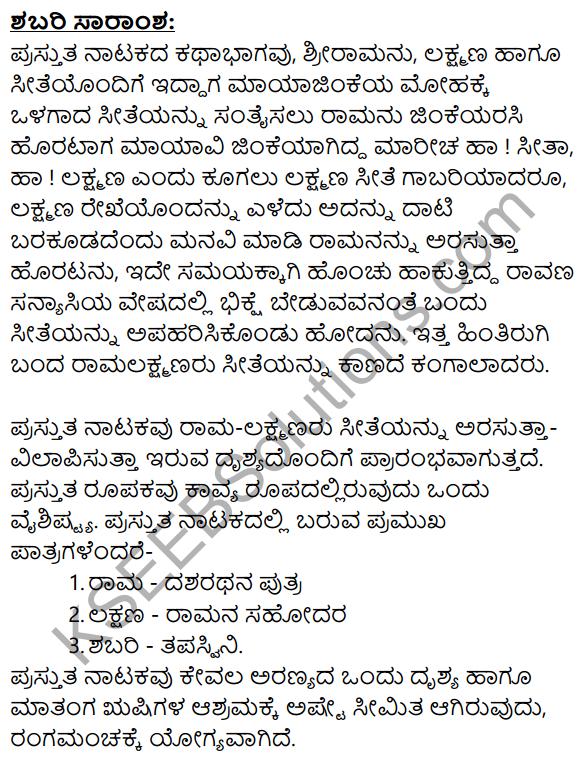 Shabari Summary in Kannada 1