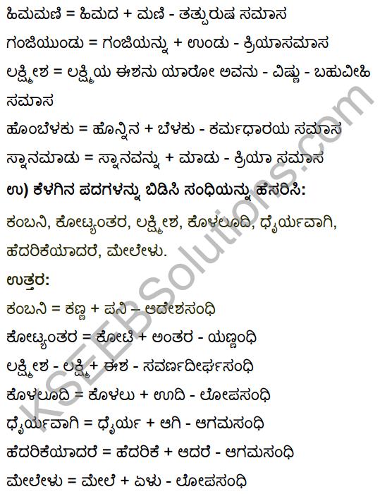 Tili Kannada Text Book Class 10 Solutions Gadya Chapter 7 Nanna Gopala 21
