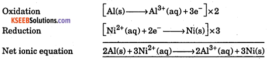 1st PUC Chemistry Question Bank Chapter 8 Redox Reactions - 10