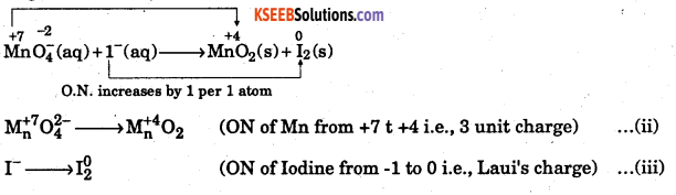 1st PUC Chemistry Question Bank Chapter 8 Redox Reactions - 109