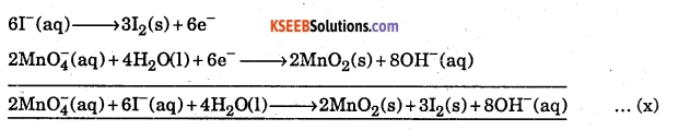 1st PUC Chemistry Question Bank Chapter 8 Redox Reactions - 112