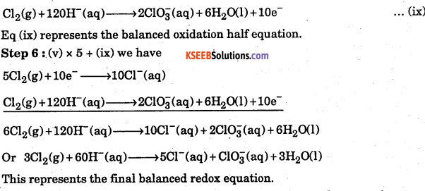 1st PUC Chemistry Question Bank Chapter 8 Redox Reactions - 116