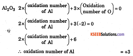 1st PUC Chemistry Question Bank Chapter 8 Redox Reactions - 120