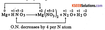1st PUC Chemistry Question Bank Chapter 8 Redox Reactions - 32