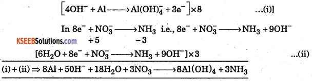 1st PUC Chemistry Question Bank Chapter 8 Redox Reactions - 5