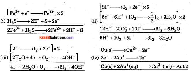 1st PUC Chemistry Question Bank Chapter 8 Redox Reactions - 57