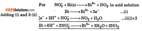 1st PUC Chemistry Question Bank Chapter 8 Redox Reactions - 61