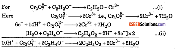 1st PUC Chemistry Question Bank Chapter 8 Redox Reactions - 62