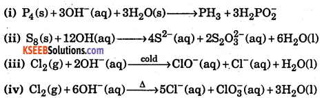 1st PUC Chemistry Question Bank Chapter 8 Redox Reactions - 70