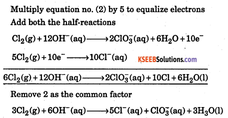 1st PUC Chemistry Question Bank Chapter 8 Redox Reactions - 85