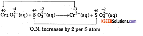 1st PUC Chemistry Question Bank Chapter 8 Redox Reactions - 90