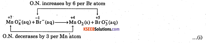 1st PUC Chemistry Question Bank Chapter 8 Redox Reactions - 95