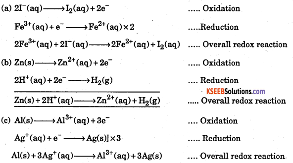 1st PUC Chemistry Question Bank Chapter 8 Redox Reactions - 98