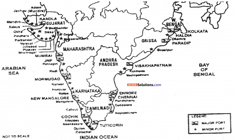 1st PUC Geography Previous Year Question Paper March 2016 (North) - 6