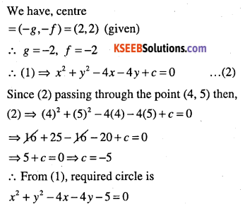 1st PUC Maths Question Bank Chapter 11 Conic Sections 19