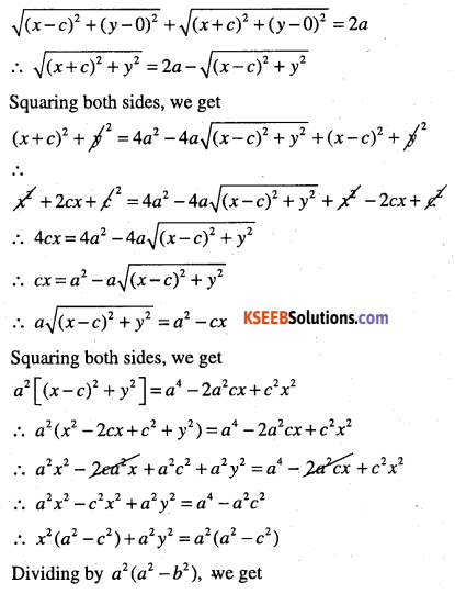 1st PUC Maths Question Bank Chapter 11 Conic Sections 37