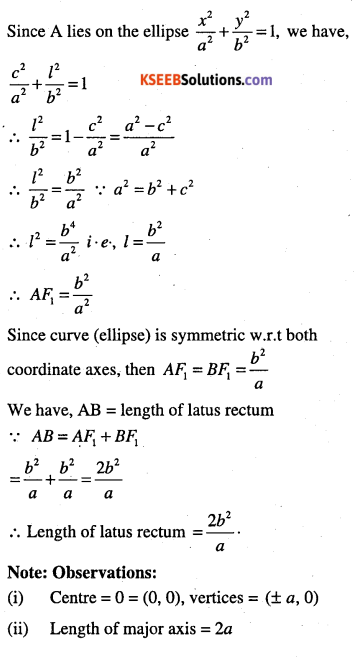 1st PUC Maths Question Bank Chapter 11 Conic Sections 40