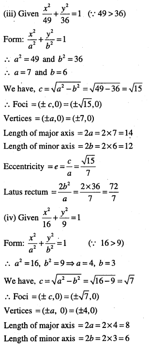 1st PUC Maths Question Bank Chapter 11 Conic Sections 45
