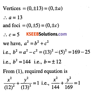 1st PUC Maths Question Bank Chapter 11 Conic Sections 51