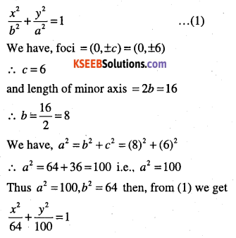 1st PUC Maths Question Bank Chapter 11 Conic Sections 56