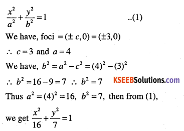 1st PUC Maths Question Bank Chapter 11 Conic Sections 57