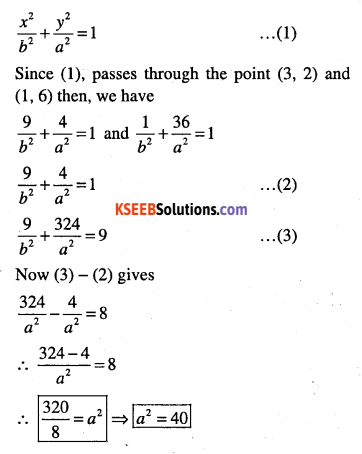 1st PUC Maths Question Bank Chapter 11 Conic Sections 59