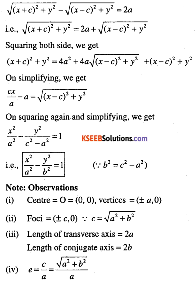 1st PUC Maths Question Bank Chapter 11 Conic Sections 64