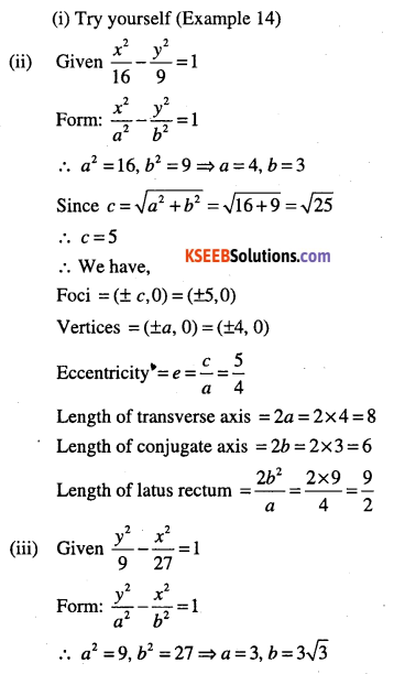 1st PUC Maths Question Bank Chapter 11 Conic Sections 67