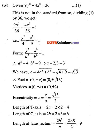 1st PUC Maths Question Bank Chapter 11 Conic Sections 69