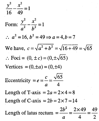 1st PUC Maths Question Bank Chapter 11 Conic Sections 73
