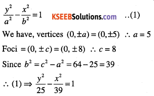 1st PUC Maths Question Bank Chapter 11 Conic Sections 75