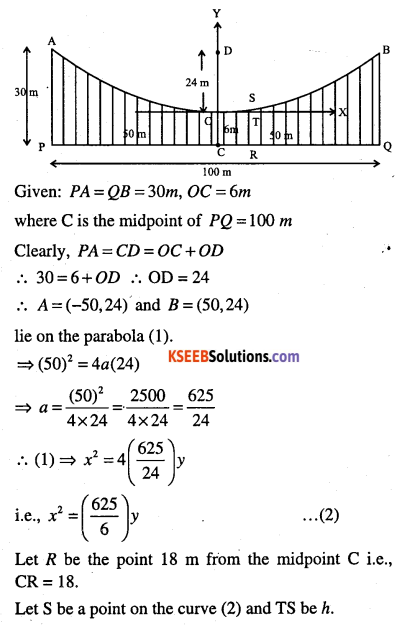 1st PUC Maths Question Bank Chapter 11 Conic Sections 86