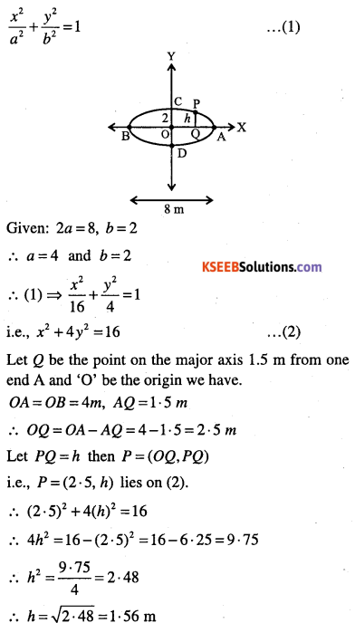 1st PUC Maths Question Bank Chapter 11 Conic Sections 88