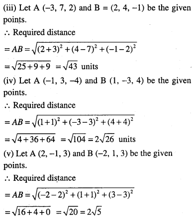 1st PUC Maths Question Bank Chapter 12 Introduction to Three Dimensional Geometry 11