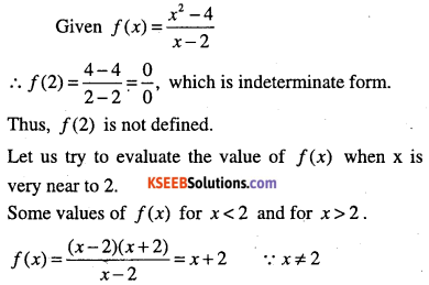 1st PUC Maths Question Bank Chapter 13 Limits and Derivatives 1