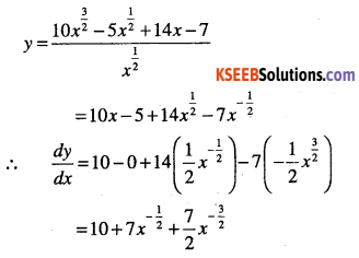 1st PUC Maths Question Bank Chapter 13 Limits and Derivatives 121